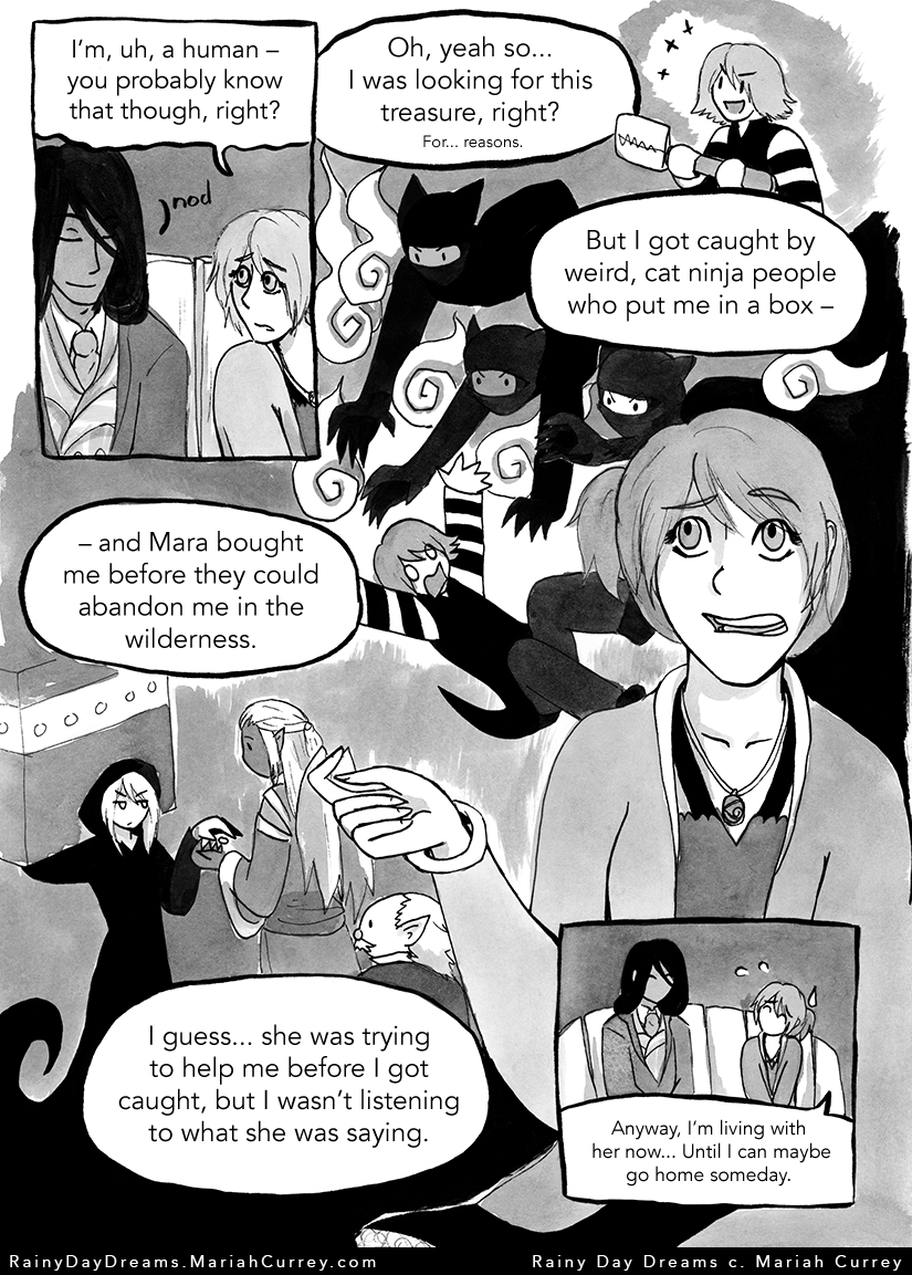 One page summary of Chapter 1.